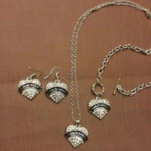 Jewelry - NEW I Love My Harley Jewelry set